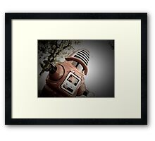 Retro Toy Robby Robot 02 Framed Print