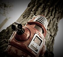 Retro Toy Robby Robot 03 by mdkgraphics