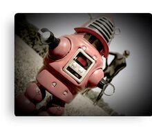 Retro Toy Robby Robot 04 Canvas Print