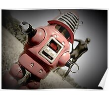Retro Toy Robby Robot 04 Poster