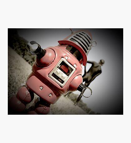 Retro Toy Robby Robot 04 Photographic Print