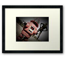 Retro Toy Robby Robot 05 Framed Print
