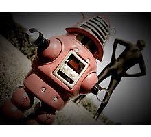 Retro Toy Robby Robot 05 Photographic Print