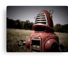 Retro Toy Robby Robot 06 Canvas Print