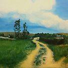 An Italian Landscape by Okse