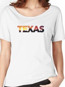 """Texas"" Sunrise Women's Relaxed Fit T-Shirt"