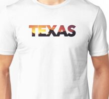 """Texas"" Sunrise Unisex T-Shirt"