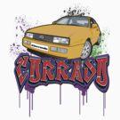 VW Corrado Graff by Steve Harvey