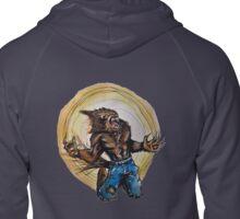 Werewolf Zipped Hoodie