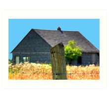 The Fenced!!! Art Print