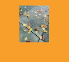 Autumn Leaves on Pavement Unisex T-Shirt
