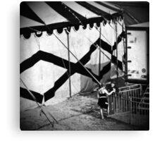 Circus conversation Canvas Print