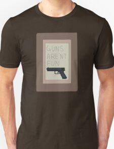 Rick and Morty: Guns Are'nt Fun T-Shirt
