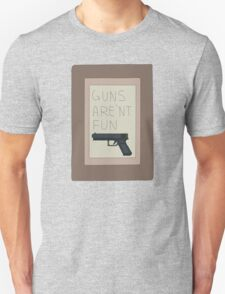 Rick and Morty: Guns Are'nt Fun T-Shirt