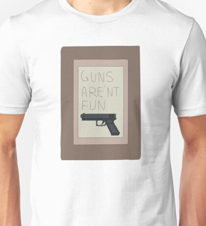 Rick and Morty: Guns Are'nt Fun Unisex T-Shirt