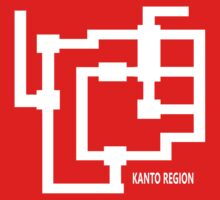 Kanto Region Map by Joseph Wade