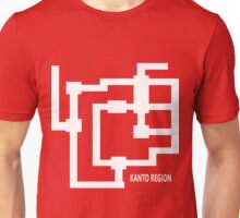 Kanto Region Map Unisex T-Shirt