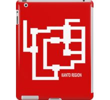 Kanto Region Map iPad Case/Skin