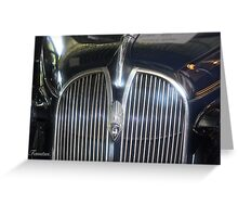 Oldtimer beauty.  Greeting Card