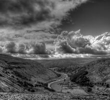 Sky Above Upper Swaledale by Mat Robinson