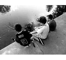 Boys Will Be Boys Photographic Print