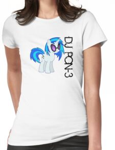 DJ PON-3 Womens Fitted T-Shirt
