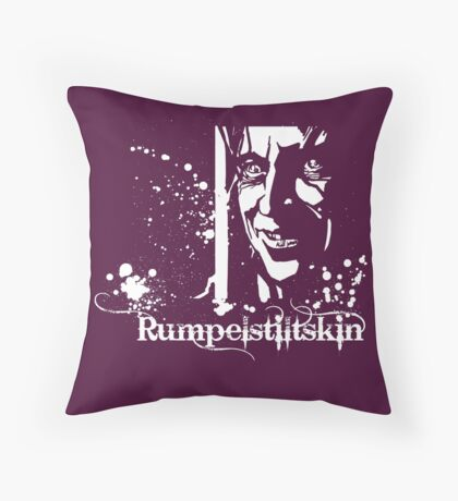 Once Upon a Beast Throw Pillow
