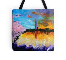 Washington at Sunset Tote Bag