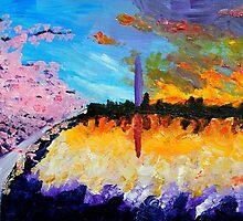 Washington at Sunset by Jazlyn Williams