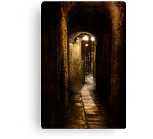 Arched Walkway Canvas Print