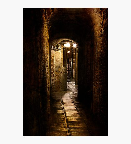 Arched Walkway Photographic Print