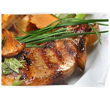Grilled Pigling Cutlet Poster