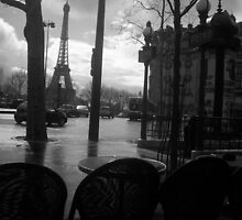Cafe after the rain by Anitajuli