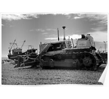 Boats And Bulldozers - Hastings Poster