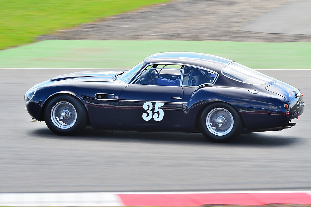 1960 Aston Martin DB4 GT Zagato by Willie Jackson