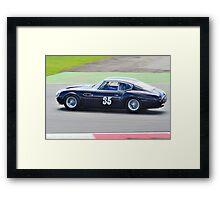 1960 Aston Martin DB4 GT Zagato Framed Print