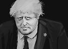 Boris Johnson by Nigel Silcock
