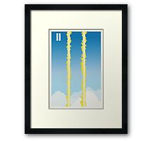 Back to the Future II Framed Print