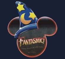 Fantasmic! - Metallic Mouse Ears, Hat, and Logo Design by Trey Anderson