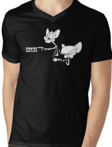 Narf Fiction Mens V-Neck T-Shirt