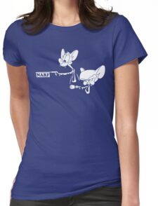 Narf Fiction Womens Fitted T-Shirt