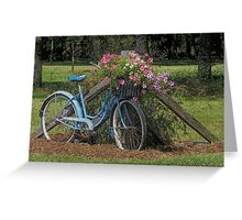 Flower Pedals Greeting Card