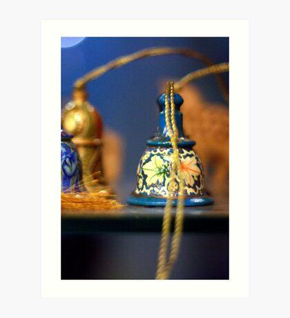 Blue Bell Art Print