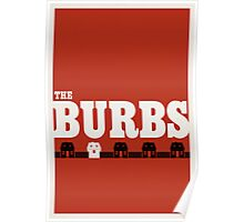 The Burbs Poster