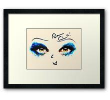 Darren Criss Hedwig Framed Print
