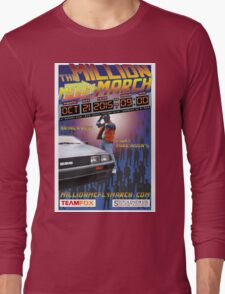 The Million McFly March Parkinson's Benefit Official Poster (Max Size 12 X 18) Long Sleeve T-Shirt