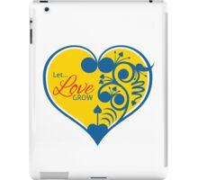 Let Love Grow iPad Case/Skin