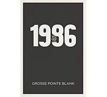 Grosse Pointe Blank Photographic Print