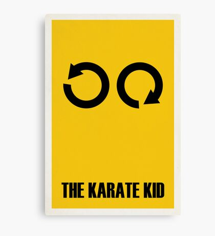 The Karate Kid Canvas Print