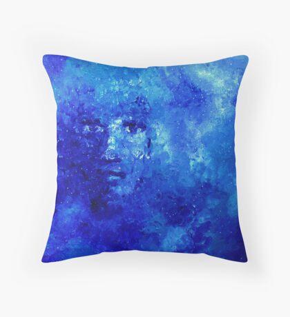 Awakening (or Self in Galaxy) Throw Pillow